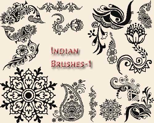 Индийские татуировки знаки и