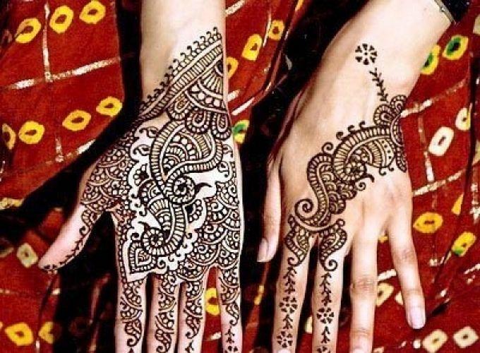 Индийские татуировки хной