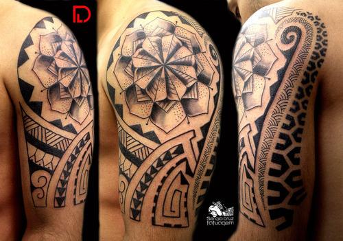 татуировки маори эскизы: