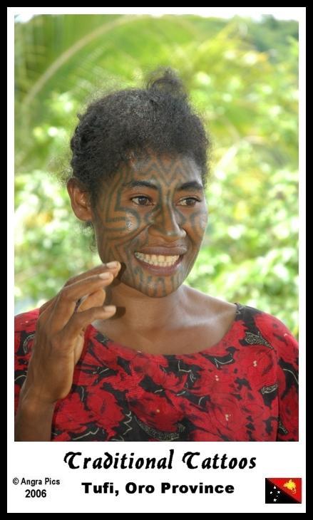 Татуировки племен новой гвинеи